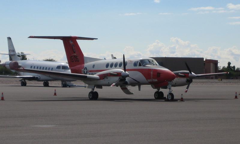 US Navy turbo-prop #G1505 (ps)