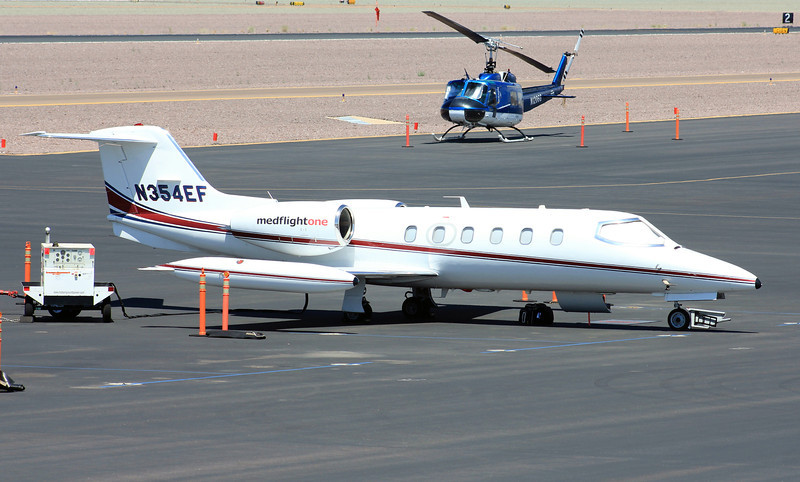 MED Flight One 1981 Learjet 35A #N354EF