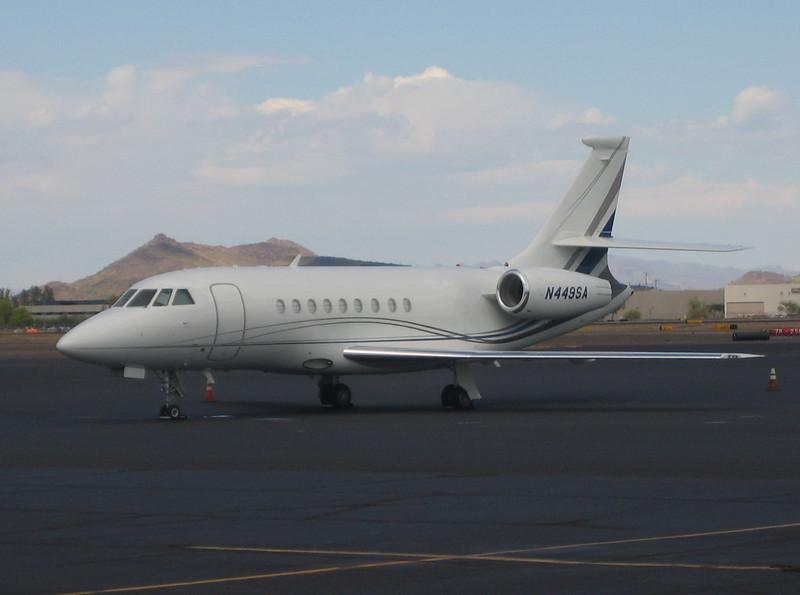 Dassault Falcon Jet 2000EX 2008 #N449SA