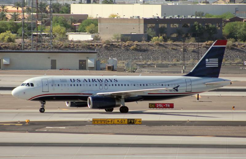 US Airways 2005 Airbus A320-232 #N676AW