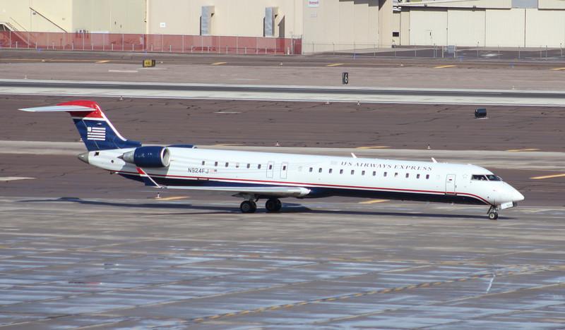 US Airways 2004 Bombardier CL600-2D24 #N924FJ