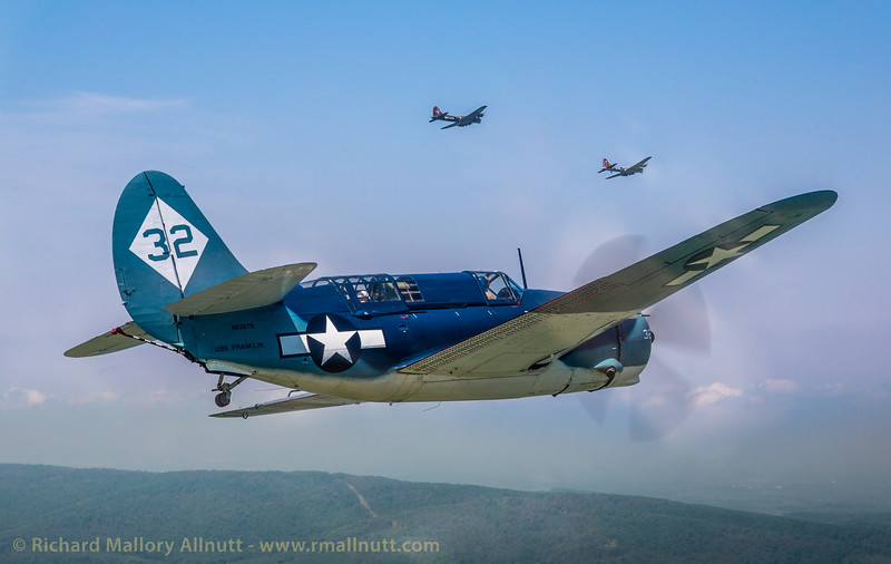 _C8A2294 - Richard Mallory Allnutt photo - Arsenal of Democracy Flyover - Preparations - Culpeper, VA -May 07, 2015