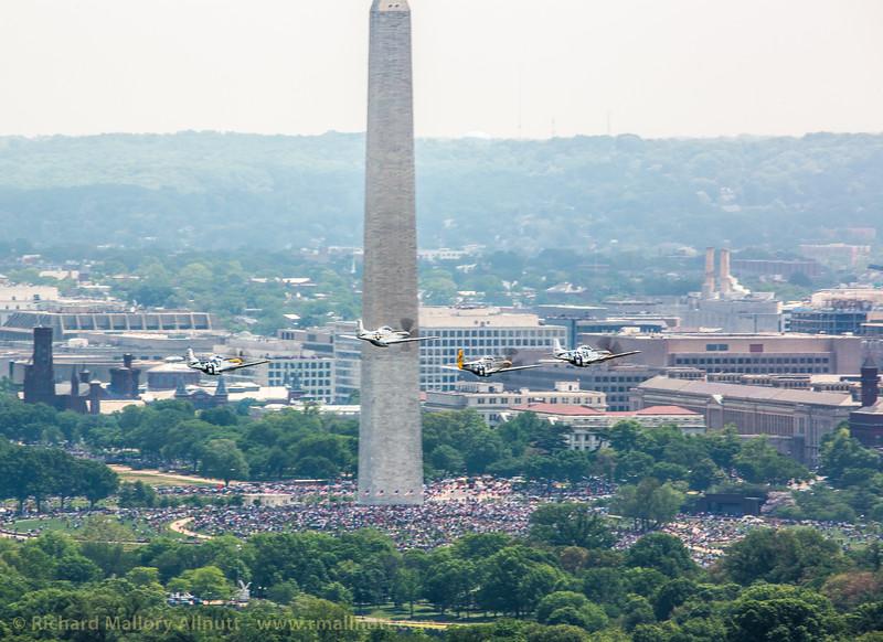 _C8A3316 - Richard Mallory Allnutt photo - Arsenal of Democracy Flyover - Washington, DC -May 08, 2015