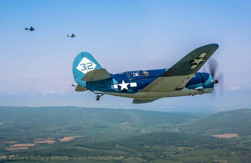 _C8A2282 - Richard Mallory Allnutt photo - Arsenal of Democracy Flyover - Preparations - Culpeper, VA -May 07, 2015
