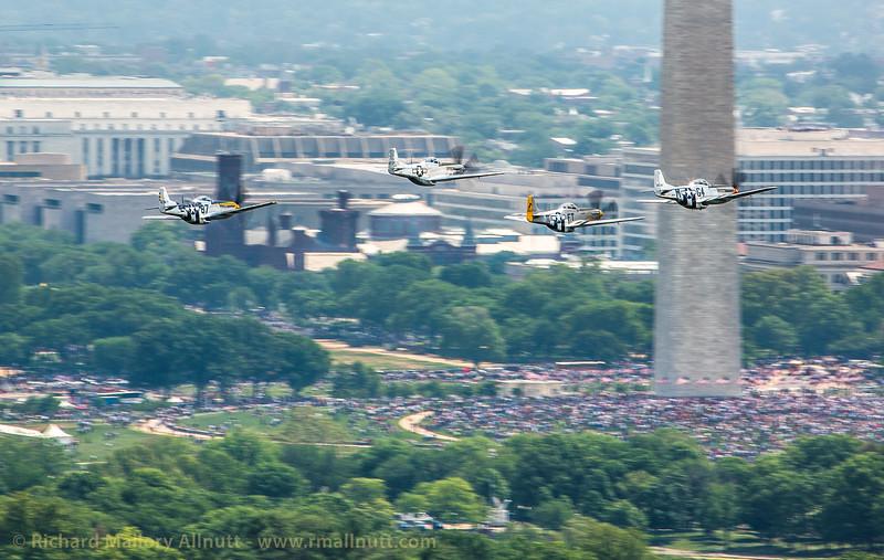 _C8A3314 - Richard Mallory Allnutt photo - Arsenal of Democracy Flyover - Washington, DC -May 08, 2015
