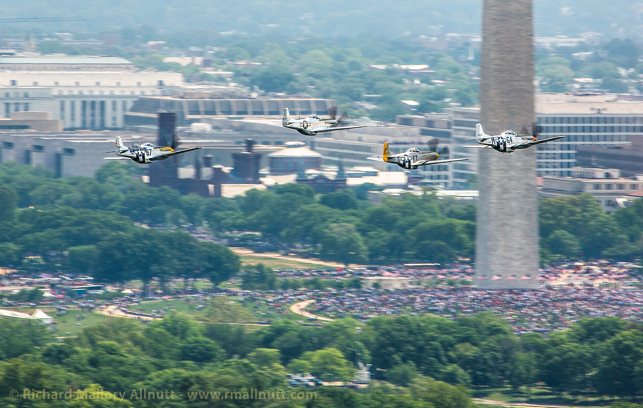 _C8A3314 - Richard Mallory Allnutt photo - Arsenal of Democracy Flyover - Washington, DC -May 08, 2015
