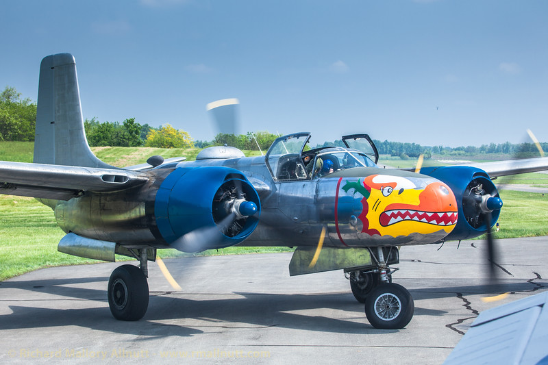 _MG_1024 - Richard Mallory Allnutt photo - Arsenal of Democracy Flyover - Preparations - Culpeper, VA -May 07, 2015