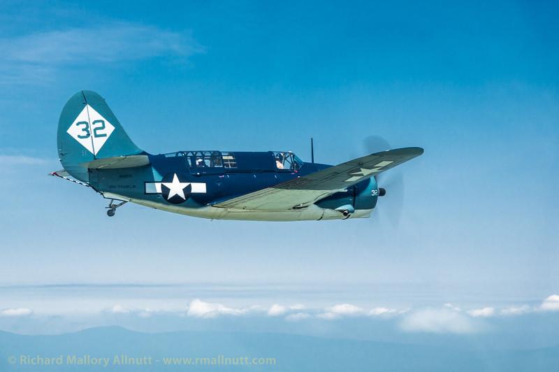 _C8A2221 - Richard Mallory Allnutt photo - Arsenal of Democracy Flyover - Preparations - Culpeper, VA -May 07, 2015