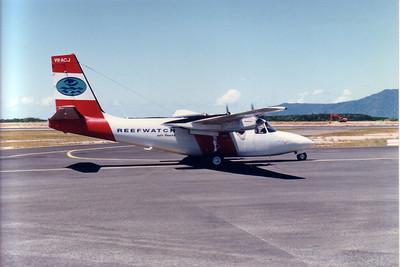 VH-ACJ REEFWATCH AIR CHARTERS AEROCOMMANDER-500