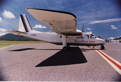 H4-WPG WESTERN PACIFIC AIRLINES BRITTON NORMAN ISLANDER