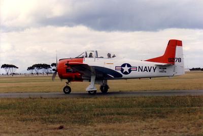 VH-NAW NORTH AMERICAN T-28 TROJAN