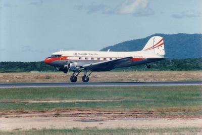 VH-MIN SOUTH PACIFIC DC-3.