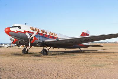 VH-AGU GOLDEN WEST AIRWAYS DC-3
