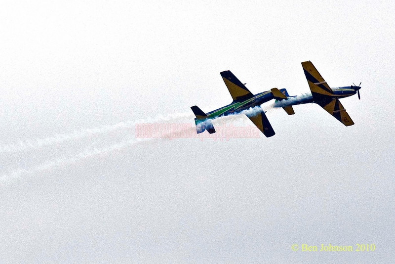 The Brazillian Smoke Squadron - Photos from the 8th annual Thunder Over The Boarwalk - 2010 Atlantic City Air Show, August 25, 2010
