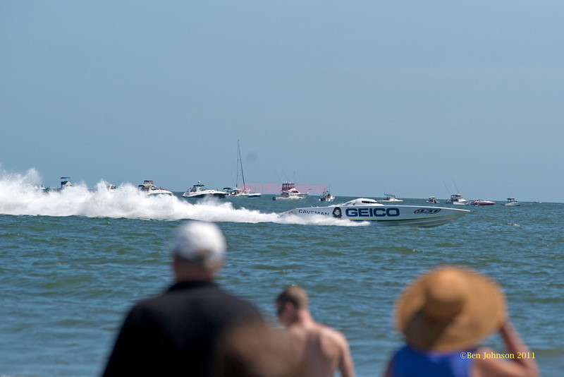 Geico Speedboat - performing at The 2011 Atlantic City Air Show, August 17, 2011