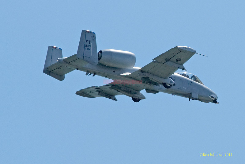 USAF HC10H - performing at The 2011 Atlantic City Air Show, August 17, 2011