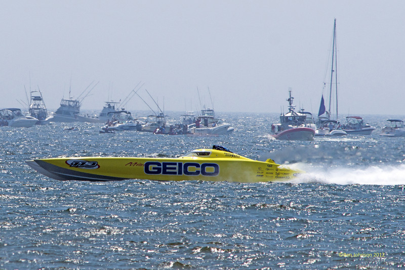 Miss Geico Speedboat - Photos of highlights from the 10th annual Thunder Over The Boarwalk - 2012 Atlantic City Air Show, August 17, 2012