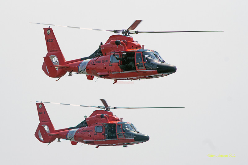 US Coast Guard Search & Rescue Demonstration - Photos of highlights from the 10th annual Thunder Over The Boarwalk - 2012 Atlantic City Air Show, August 17, 2012