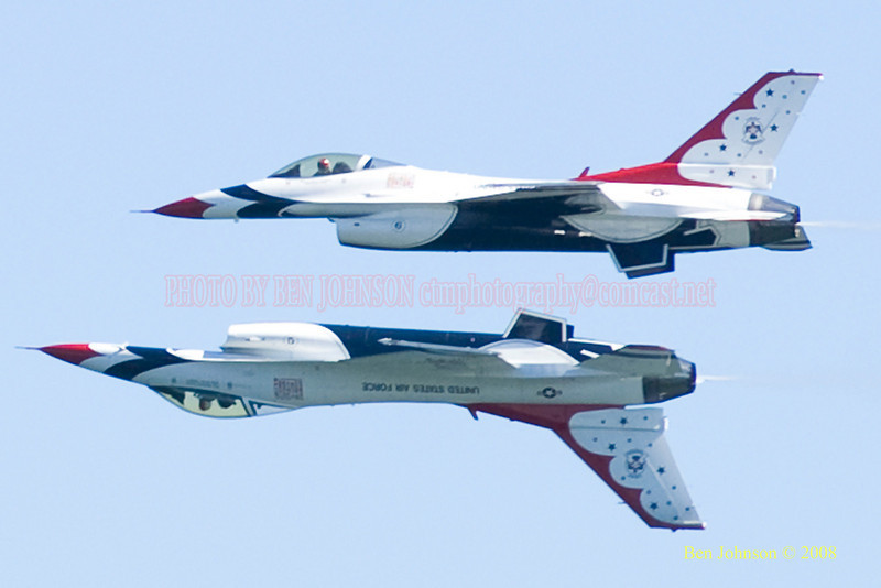 The 2008 Atlantic City Air Show Photo, 'Thunder Over The Boardwalk' held on August 20, 2008
