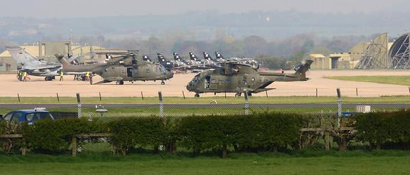 RAF Leeming April