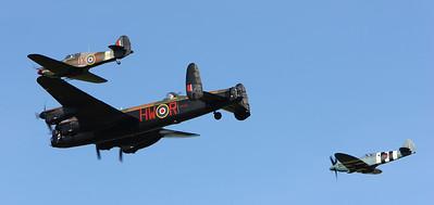 Avro Lancaster BBMF flypast