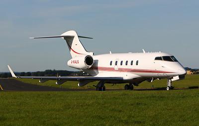 The Queen departing RAF Leeming