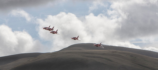 Red Arrows Transit Cumbria