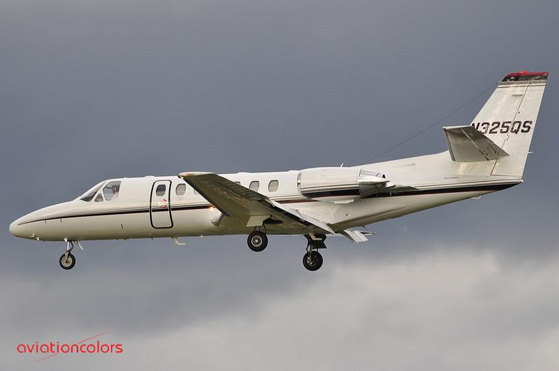 N325QS - 1997 CESSNA 560 - KBWI - 9/27/2009