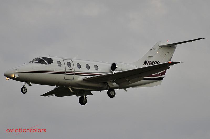 N114QS - RAYTHEON AIRCRAFT COMPANY 400A - KBWI - 9/27/2009