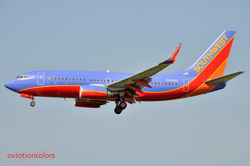 N204WN - 2005 BOEING 737-7H4 - KBWI - 6/7/2009