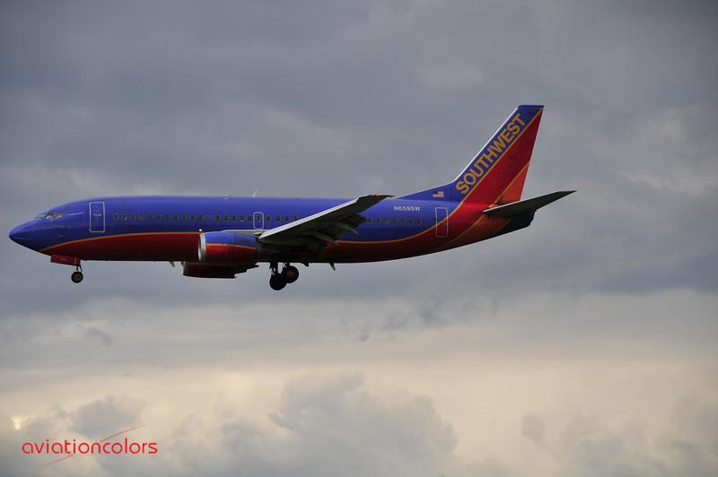 N659SW - 1985 BOEING 737-301 - 9/27/2009.