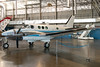 This Beechcraft sits preserved in the presidential aircraft hangar.