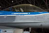This F/-16 was the testbed for the JSF's fly and throttle-by-wire systems.