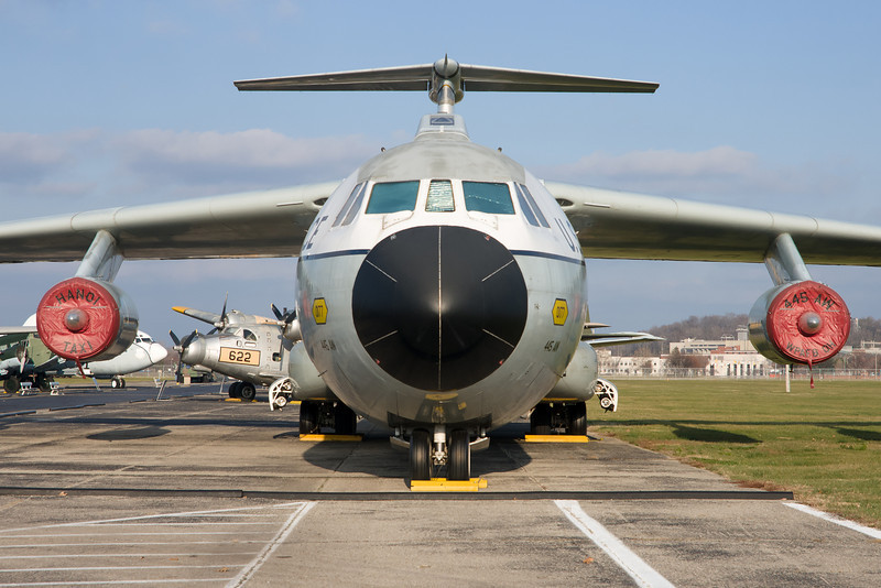 This Lockheed Starlifter was the Hanoi Taxi, which brought American POWs home after the war in Vietnam.