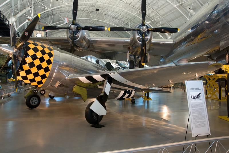 A P-51 Mustang.