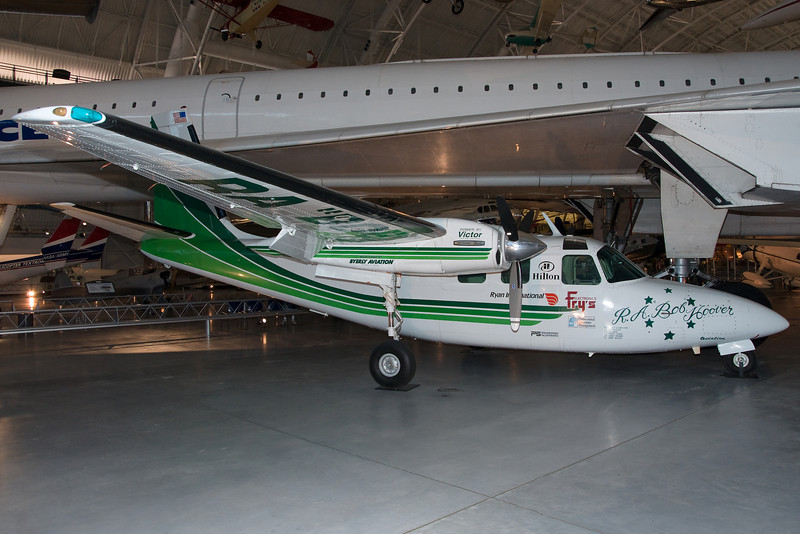 An Aero Commander.