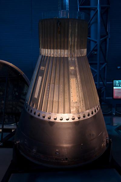 A Space capsule.