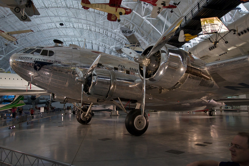 A Pan Am Boeing Stratocruiser.