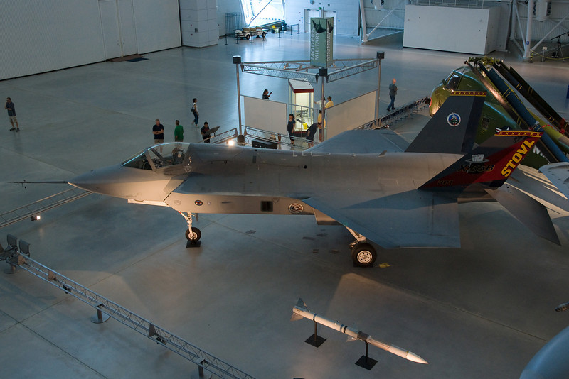 The Joint Strike Fighter prototype.