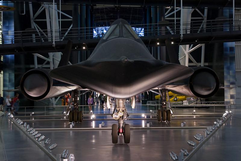 The SR-71 Blackbird.
