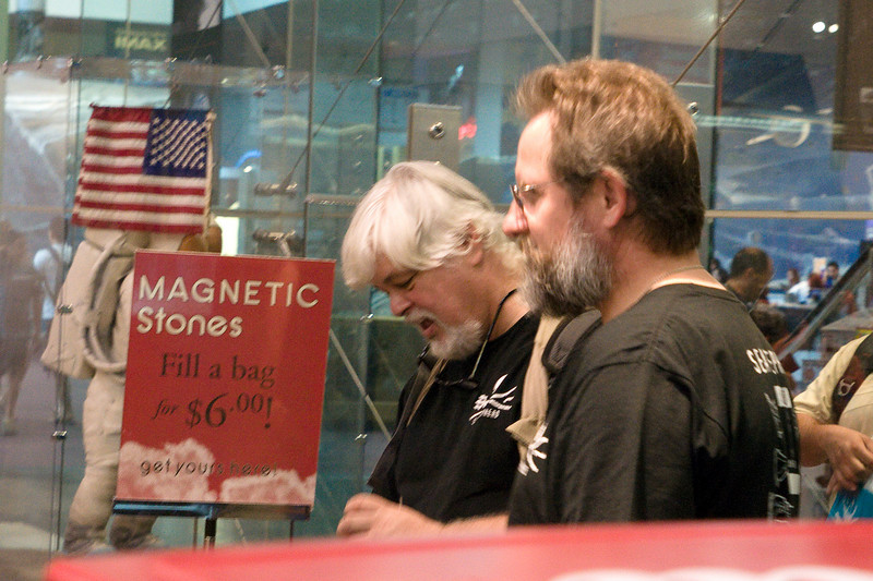 Paul Watson of the Sea Shepherd Society apparently likes curiously strong magnets.