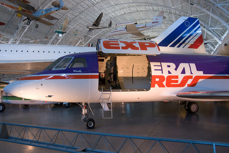 The first Falcon for FedEx.