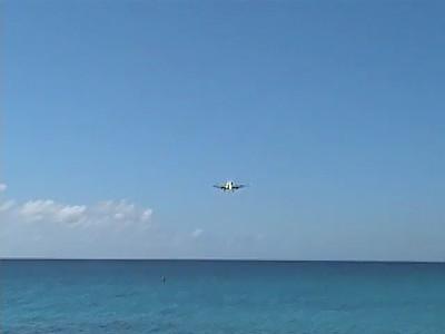 Boeing 757 Landing @ Princess Juliana International Airport - Maho Beach  - St. Maarten