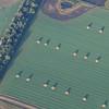 Large hay bales in North Dakota