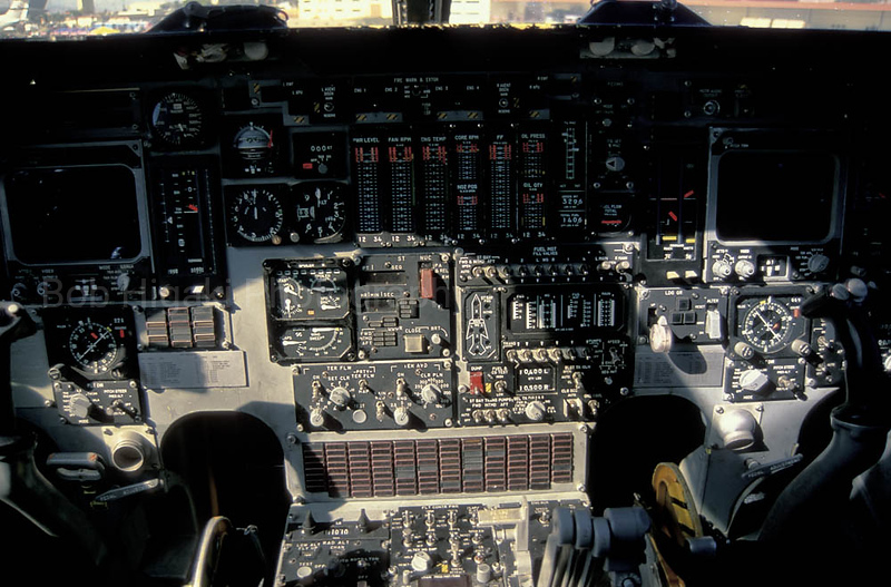 B-1 cockpit- very tight