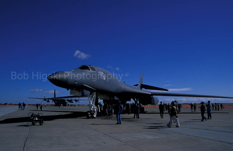 "B-1 bomber ""Lancer""- Travis Air Force Base, CA"