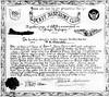 Luckey Bastardes Club. Paul L. Valentine's Certificate.