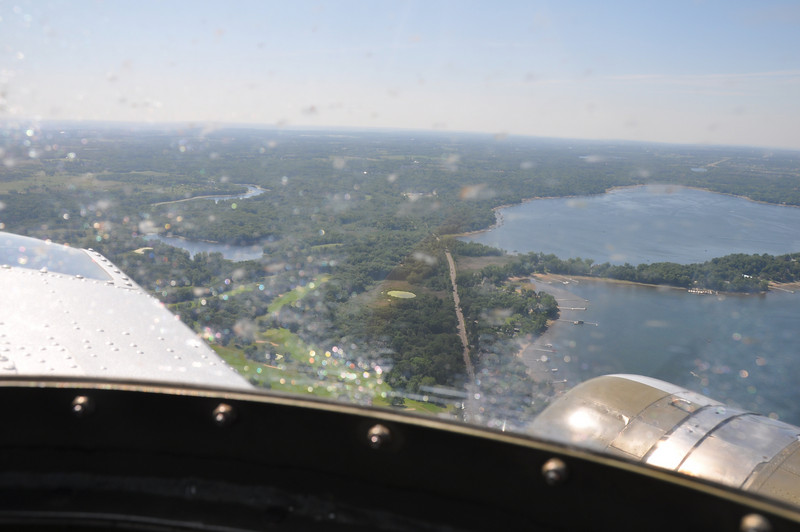 White Bear Lake from the top turret