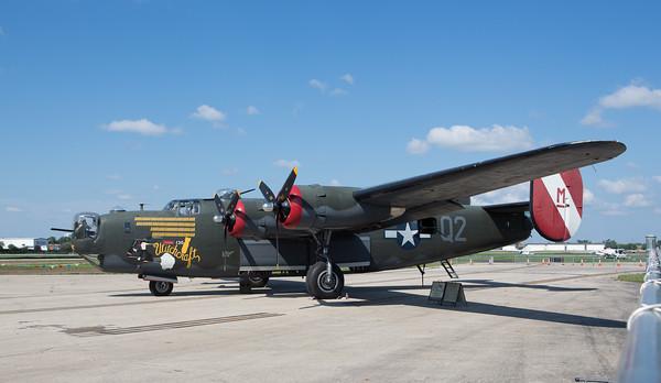 B-17 & B-24 at Palwaukee Airport