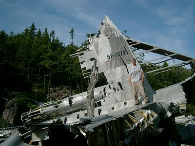 B-36 crash  Newfoundland